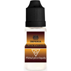 Příchuť IMPERIA 10ml Black Coffee (Černá káva)