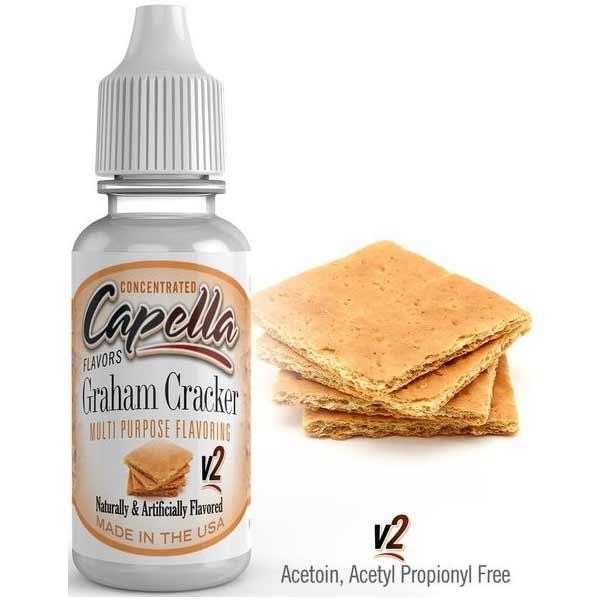 Příchuť Capella 13ml Graham Cracker v2 (Grahamová sušenka)
