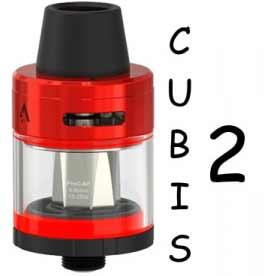 Joyetech CUBIS 2 Clearomizer 2ml, červená