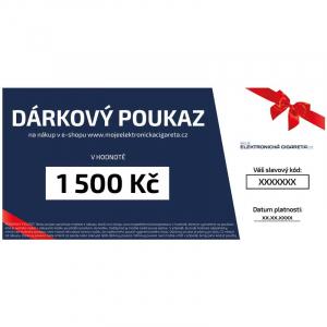 Dárkový poukaz na 1500kč