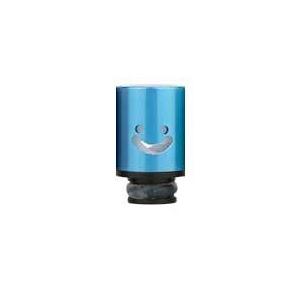 Aluminum POM Smile náustek pro clearomizer, modrá