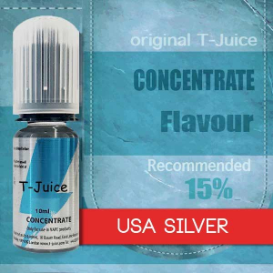 Příchuť T-Juice USA Silver 10ml