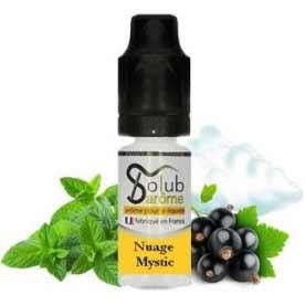 Příchuť Solubarome 10ml, mentol a černý rybíz (Nuage Mystic)