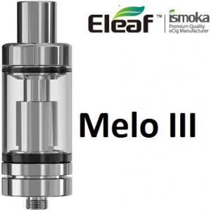 iSmoka-Eleaf Melo 3 clearomizer, stříbrná