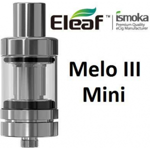iSmoka-Eleaf Melo 3 Mini clearomizer, stříbrná