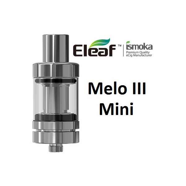 iSmoka-Eleaf Melo 3 Mini clearomizer, stříbrná