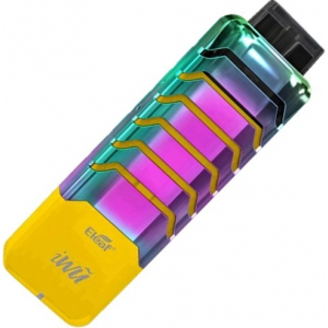 Elektronická cigareta iSmoka-Eleaf iWu, 700mAh, žluto-duhová