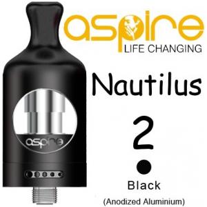 Clearomizer aSpire Nautilus 2, 2ml, černá