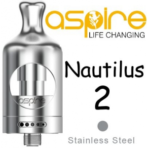 Clearomizer aSpire Nautilus 2, 2ml, stříbrná