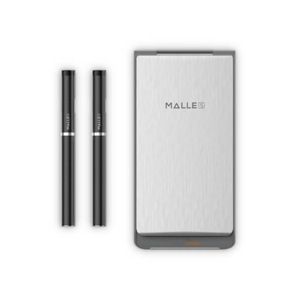 Elektronická cigareta Vapeonly Malle PCC, 0,8ml, 180mAh + PCC 2250mAh, černo-šedá