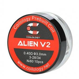 Coilology Alien V2 předmotané spirálky Ni80, 10ks