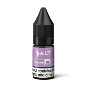 E-liquid Salt Brew Co Ledová hruška s jahodou (Merry Pear)