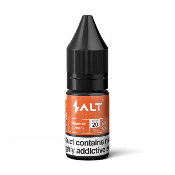E-liquid Salt Brew Co Kiwi a lesní plody (Summer Dream)