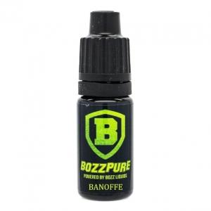 Příchuť Bozz Pure 10ml Banofee (Dezert s banány, vanilkou a kávou)