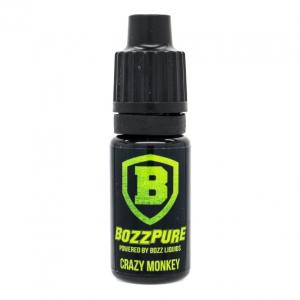 Příchuť Bozz Pure 10ml Monkey (Jablka, vanilka a tajné koření)