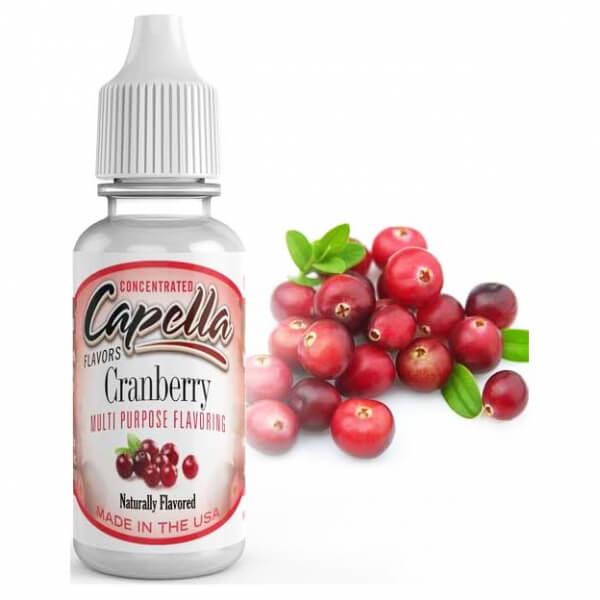 Příchuť Capella 13ml Cranberry (Brusinka)