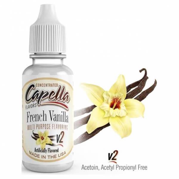 Příchuť Capella 13ml French Vanilla v2 (Francouzská vanilka)