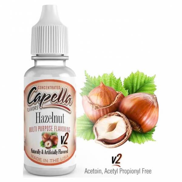 Příchuť Capella 13ml Hazelnut v2 (Lískový oříšek)