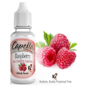 Příchuť Capella 13ml Raspberry v2 (Malina)