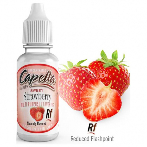 Příchuť Capella 13ml Sweet Strawberry (Sladká Jahoda)