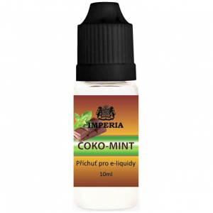 Příchuť IMPERIA 10ml Choco mint (Čokoláda s bílým mentolem)