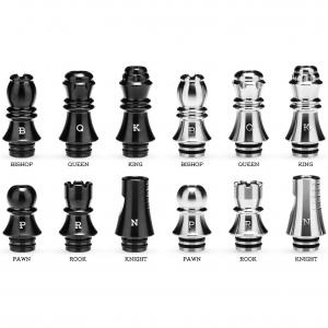 Nerezový náustek KIZOKU Chess 510