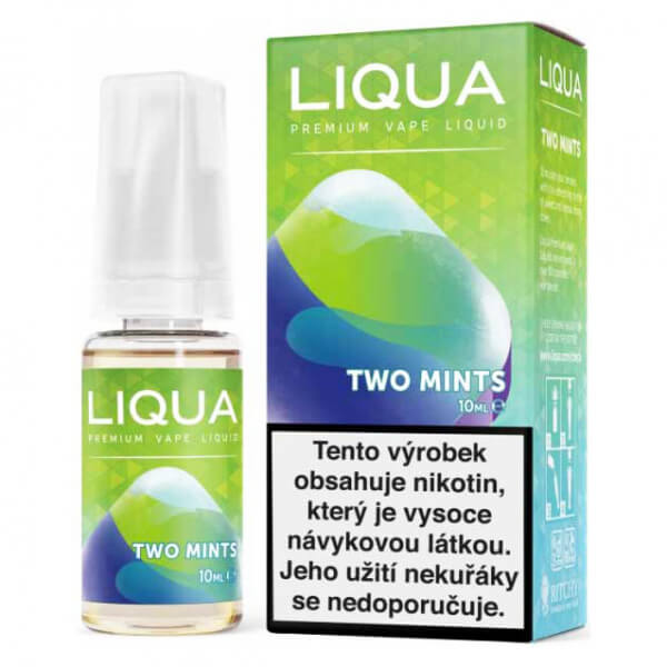 E-liquid LIQUA Elements Two Mints (Chuť máty a mentolu)