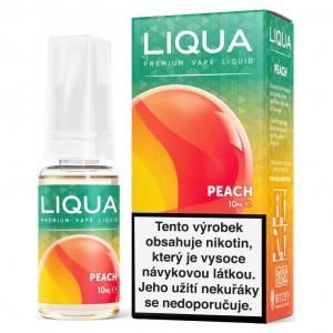E-liquid LIQUA Elements Broskev