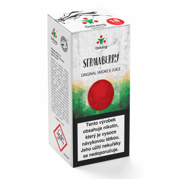E-liquid Dekang Jahody