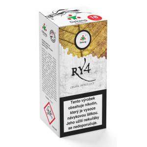 E-liquid Dekang RY4 (směs karamelu, vanilky a tabáku)