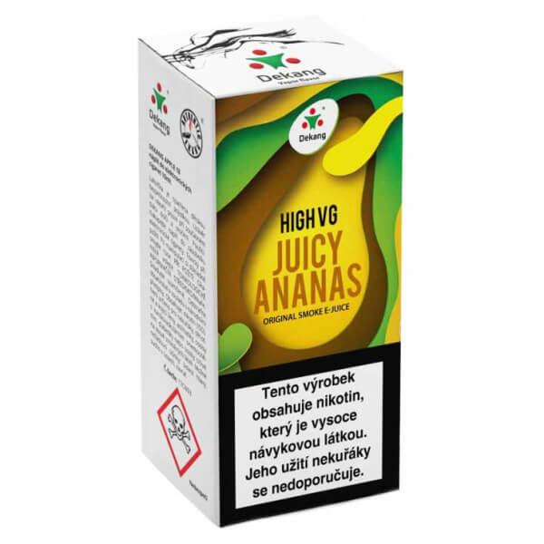 E-liquid Dekang High VG Šťavnatý ananas, Juicy Ananas
