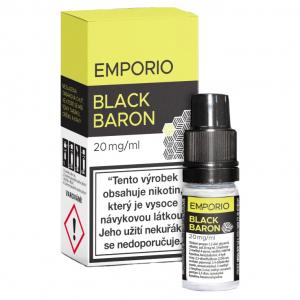 E-liquid Emporio SALT Black Baron (tabák a rybíz)