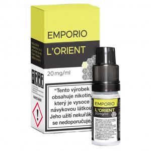 E-liquid Emporio SALT L´orient (tabák, jablko, skořice)
