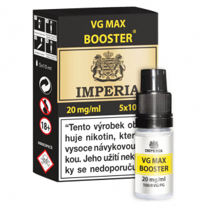 VG Max Booster IMPERIA 5x10ml VG100 20mg
