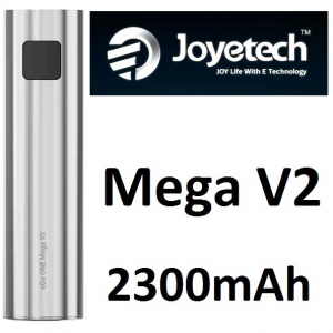 Joyetech eGo ONE Mega V2 baterie 2300mAh, stříbrná