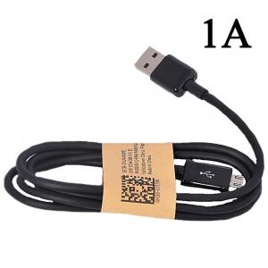 Univerzální USB-MICRO USB kabel 1A, černý