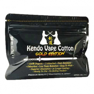 Kendo Cotton Gold Edition, Japonská organická bavlna