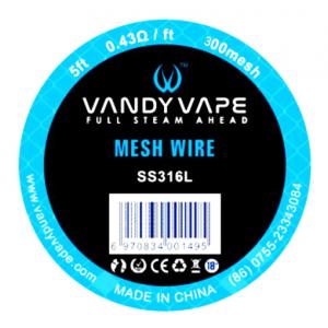 Vandy Vape Mesh SS316 1,5m