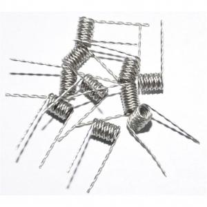 Předmotané žhavící spirálky - Twisted Niklové (Ni200)
