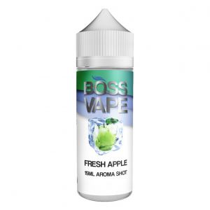 Příchuť Fresh Apple Boss Vape Shake and Vape 15ml