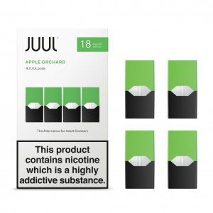 JUUL POD, Apple - Jablko