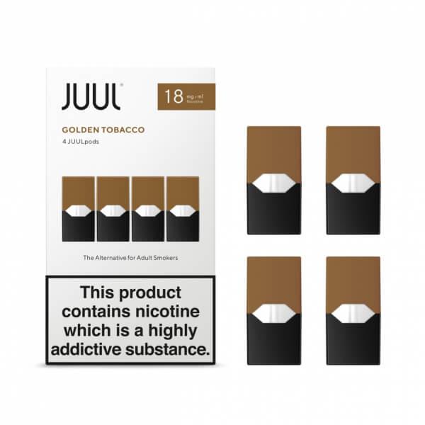 JUUL POD, Golden Tobacco - Tabák