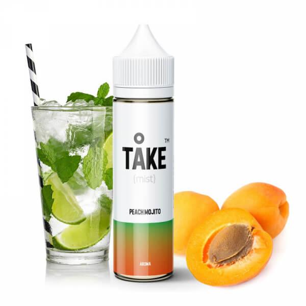 Příchuť ProVape Take Mist Peach Mojito - Broskvové mojito (20ml)
