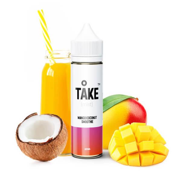 Příchuť ProVape Take Mist Mango Coconut Smoothie - Mangovo-kokosové smoothie (20ml)