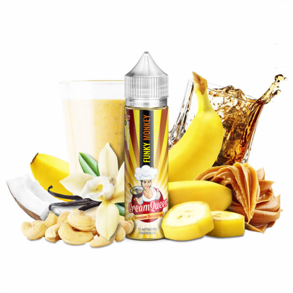 Příchuť PJ Empire Funky Monkey - banánový milkshake (12ml)