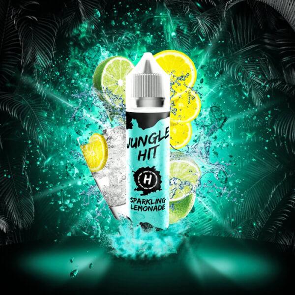 Příchuť Jungle Hit Sparkling Lemonade - Nápoj s citrónem a limetkou (12ml) - S&V