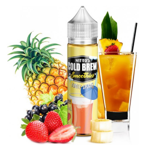 Příchuť Nitros Cold Brew Fruit Splash - Ovocný smoothie nápoj (20ml) - S&V
