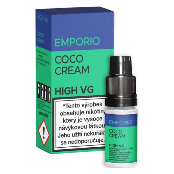 E-liquid Emporio High VG Coco Cream