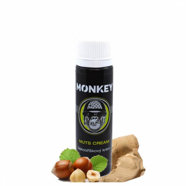 Příchuť Monkey Nuts Cream - Lískooříškový krém S&V (12ml)