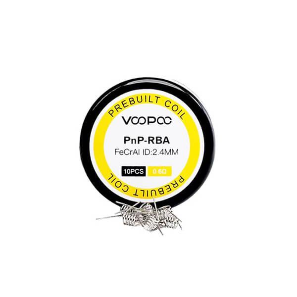 VOOPOO žhavící spirálky PnP-RBA 0,6ohm, 10ks